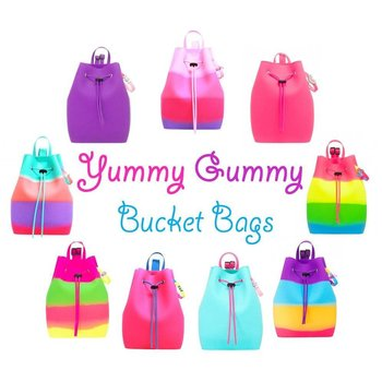 American Jewel Yummy Gummy Bucket Bag