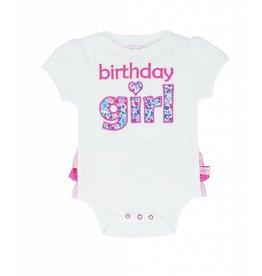 Ruffle Butts Birthday Girl Bodysuit