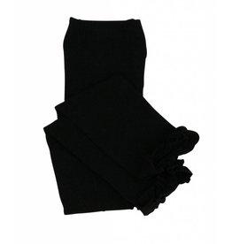 Ruffle Butts Black Ruffle Tights
