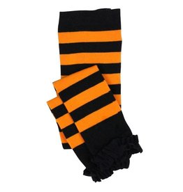 RuffleButts Halloween Stripe Tights