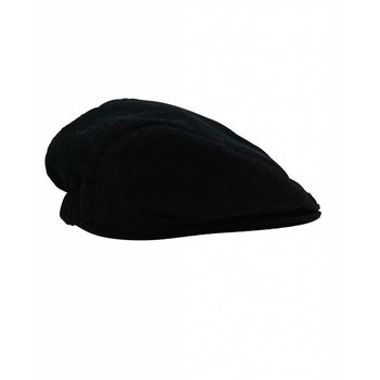Ruffle Butts Black Corduroy Drivers Cap