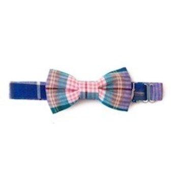 Baby Bowtie Pink, Blue, Purple plaid Bowtie
