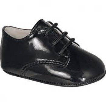 Baby Deer Black Dress Shoes