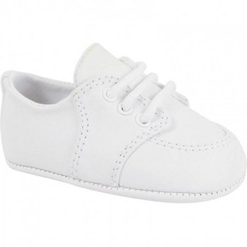Baby Deer White Dress Shoes