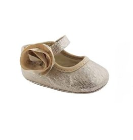 Baby Deer Gold Sparkle Crib Flats