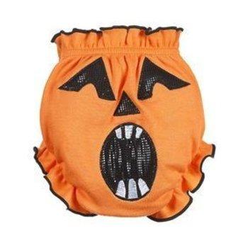 Baby Ganz Orange Spooky Pumpkin Bloomer