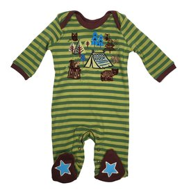 Rocking Baby Laughin' Forest Scene Footie