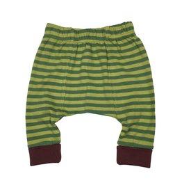 Rocking Baby Crawin' Green Stripe Legging