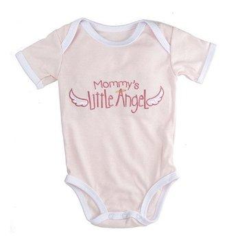 Baby Ganz Mommy's Little Angel Onesie