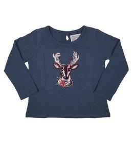 Rocking Baby Sabrina Deer Applique Shirt