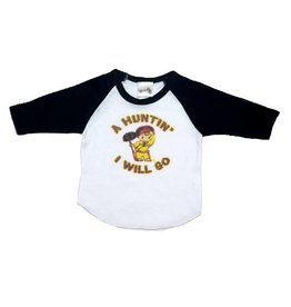 Rockin AB Little Hunter Raglan Tee