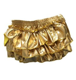 Bari Lynn Gold Metallic Bloomers