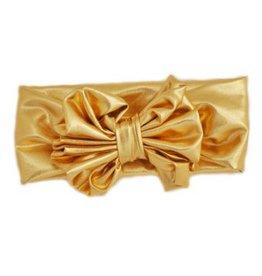 Bari Lynn Gold Metallic Headband