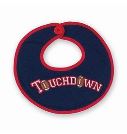 Beartington Baby Collection Touchdown Bib