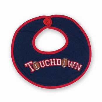 Beartington Baby Collection Touchdown Bib