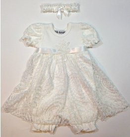 Bebe Gabrielle Bella Bubble With White Lace Accent