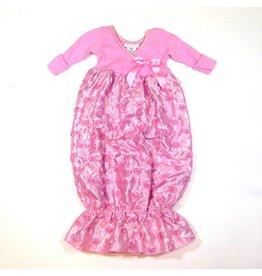 Bebemonde Criss Cross Rosette Gown