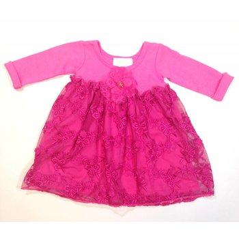 Bebemonde Hot Pink Sparkle Dress 0-3m