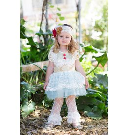 Giggle Moon Book Of Life Tutu Dress With Lace Leggings