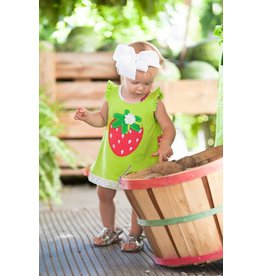 Molly & Millie Very Berry Strawberry Dress and Bloomer