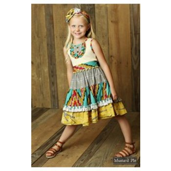 Mustard Pie Sundun Charli Dress
