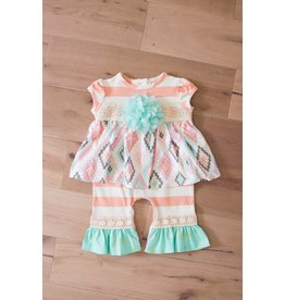 Peaches 'n Cream Aztec Dream Romper