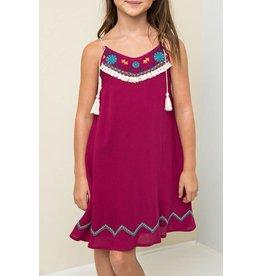 Hayden Berry Embroidered Tank Dress