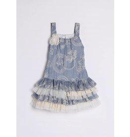 Blue Annabelle Dress