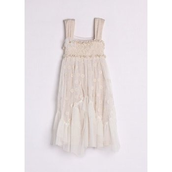 Isobella & Chloe Chole Dress lace Taupe