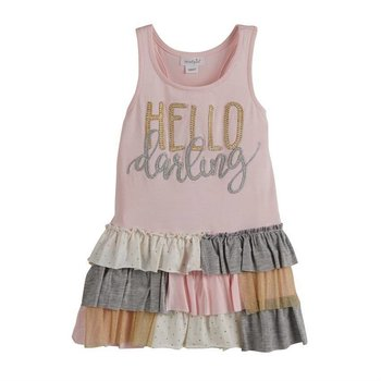 Mud Pie Hello Darling Ruffle Dress