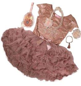 Popatu Vintage Blush Lace Pettidress