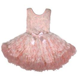 Popatu Light Pink and Ivory Petti Dress