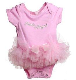 Popatu Little Angel Pink Onesie w/ Tutu