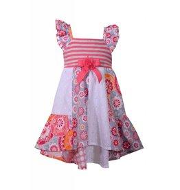 Bonnie Baby Pink Floral Summer Dress