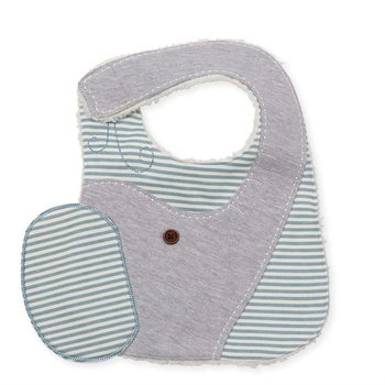 Mud Pie Elephant Bib