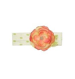 Haute Baby Lime Blossom Headband