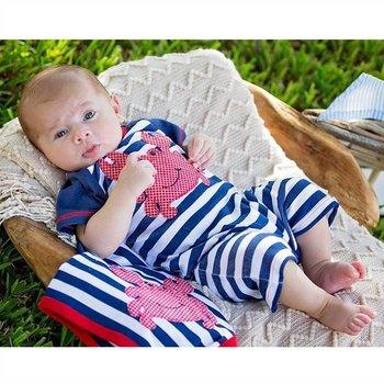 Haute Baby Boy Splish Splash Take Home Gown