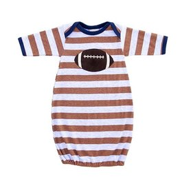 Haute Baby Field Goal Newborn Gown