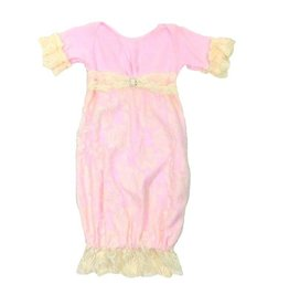 Cuddle Couture Vicotria Vintage Ivory and Pink gown