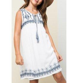Hayden Embroidered Tunic Dress