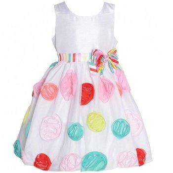Bonnie Baby Party Princess Satin Dress