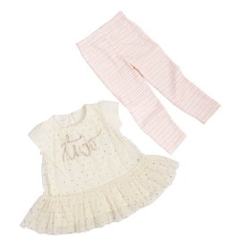 Mud Pie 2nd Birthday Princess Tunic and Legging Set