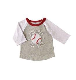 Mud Pie 1 Birthday All Star Shirt