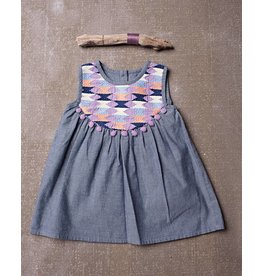 Jak & Peppar Chambray Ryder Embriodery Dress