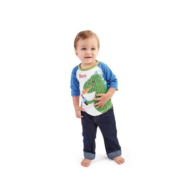 Mud Pie Dino Birthday Shirt