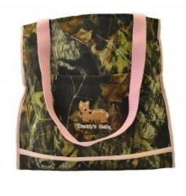 Mossy Oak Camo Bag with Light Pink Deer