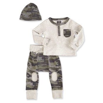 Mud Pie Camo Take Me Home Set