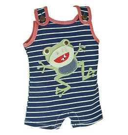 Mud Pie Frog Open Mouth Romper