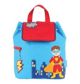 Joseph Stephen Super Hero Quilted Backpack