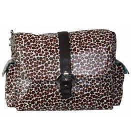 Kalencom Safari Cheetah Buckle Diaper Bag